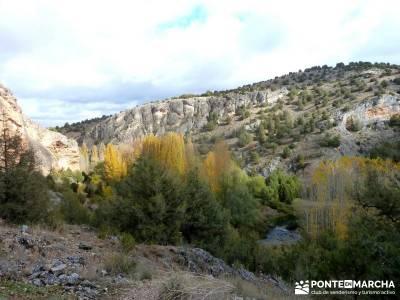 Hoces Río Riaza - Villa Ayllón; mundo amigo viajes excursiones desde valladolid